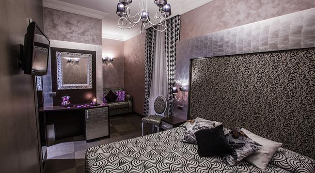 ホテル ロマーノ - ローマ - 寝室