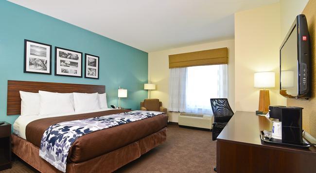Sleep Inn & Suites Austin North - I-35 - オースティン - 寝室