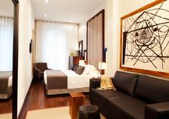 ホテル ピューリッツァー - バルセロナ - 寝室