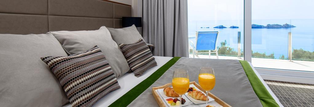 ホテル アリストン - ドゥブロヴニク - 寝室