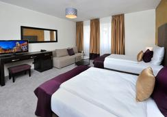 Aplend City Hotel Perugia - ブラチスラヴァ - 寝室