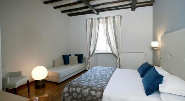 ホテル チャールストン - スポレート - 寝室
