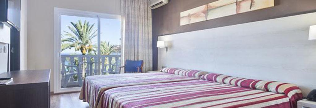 ホテル ベスト シロコ - マラガ - 寝室
