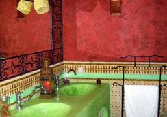 リヤド ラ クレ ドゥ フェズ - フェズ - 浴室