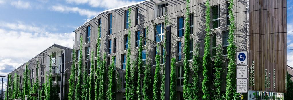 グリーン シティ ホテル ヴォーバン - Freiburg im Breisgau - 建物