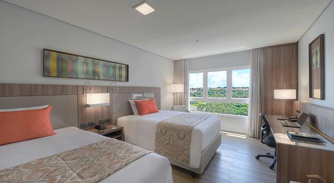 Hotel Deville Prime Campo Grande - カンポ・グランデ - 寝室