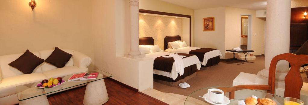 Hotel Spa Hacienda Baruk - サカテカス - 寝室