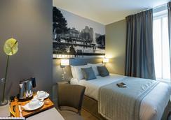 ミッドナイト ホテル パリス - パリ - 寝室