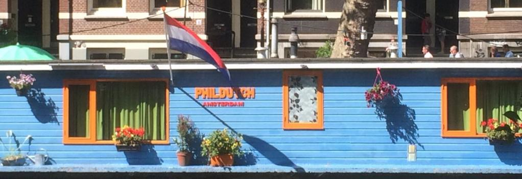 PhilDutch Houseboat Amsterdam Bed and Breakfast - アムステルダム - 建物