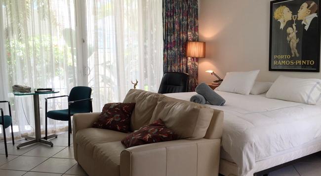Manhattan Tower Apartment Hotel - フォート・ローダーデール - 寝室