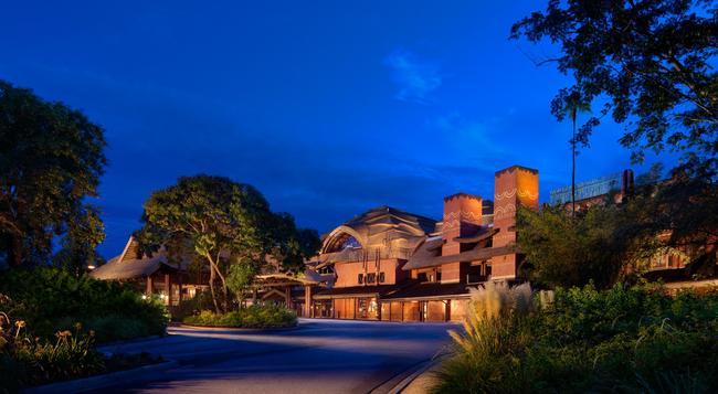 Disney's Animal Kingdom Lodge - レイク・ブエナ・ビスタ - 建物