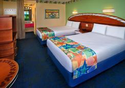 Disney's All-Star Sports Resort - レイク・ブエナ・ビスタ - 寝室
