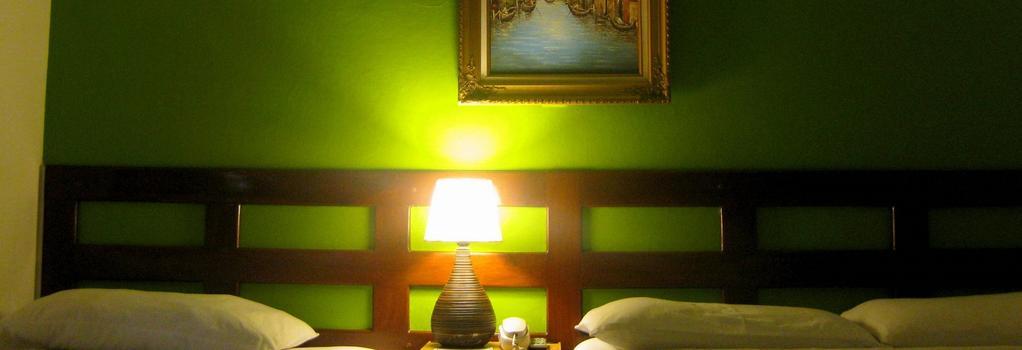 Hotel Tazumal House - San Salvador - 寝室
