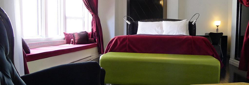 Hotel Chez Swann - モントリオール - 寝室