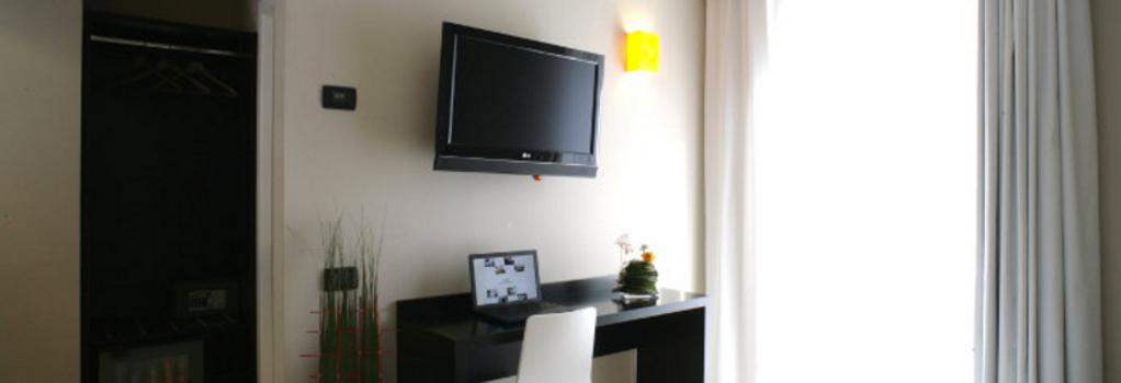 ホテル アニエーネ - ローマ - 寝室