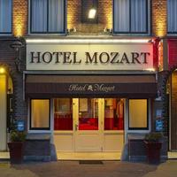 モーツァルト ホテル Hotel Front - Evening/Night