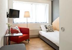 ホテル ラ ペルゴラ - ベルン - 寝室