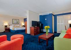 Cavalier Inn At The University of Virginia - シャーロッツビル - 寝室