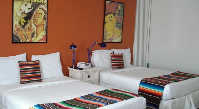 アガヴェ イン - サンタ・バーバラ - 寝室