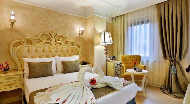 エディベ スルタン ホテル マイ エクストラ ホーム - イスタンブール - 寝室