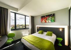 オテル アテナ スパ - ストラスブール - 寝室