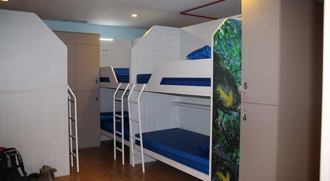 アルベルゲ コンポステーラ - サンティアゴ・デ・コンポステーラ - 寝室