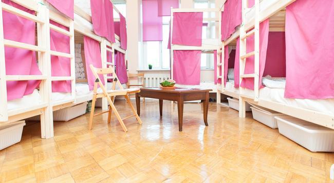 Hostels Rus-Dali - モスクワ - 寝室