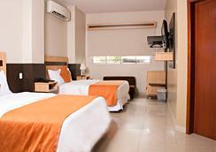 Hotel Corona Real - グアヤキル - 寝室