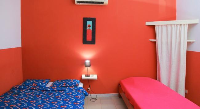 Hotel du Phare Les Mamelles - ダカール - 寝室