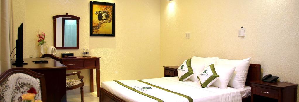 Mekong 9 Hotel Saigon - ホーチミン - 寝室