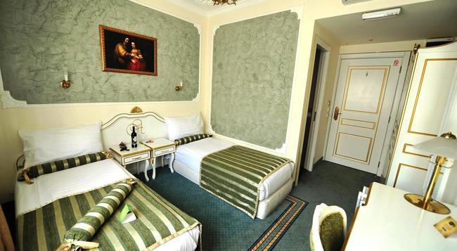 クイーンズ アストリア デザイン ホテル - ベオグラード - 寝室