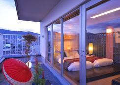 京都花ホテル - 京都市 - 寝室