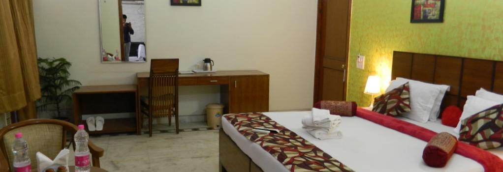Jmd Residency - グルガウン - 寝室