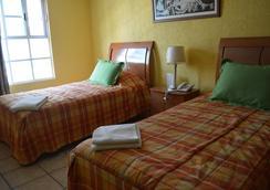 Así es México Hostería - メキシコシティ - 寝室