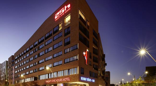 25アワーズ ホテル ハーフェン シティ - ハンブルク - 建物