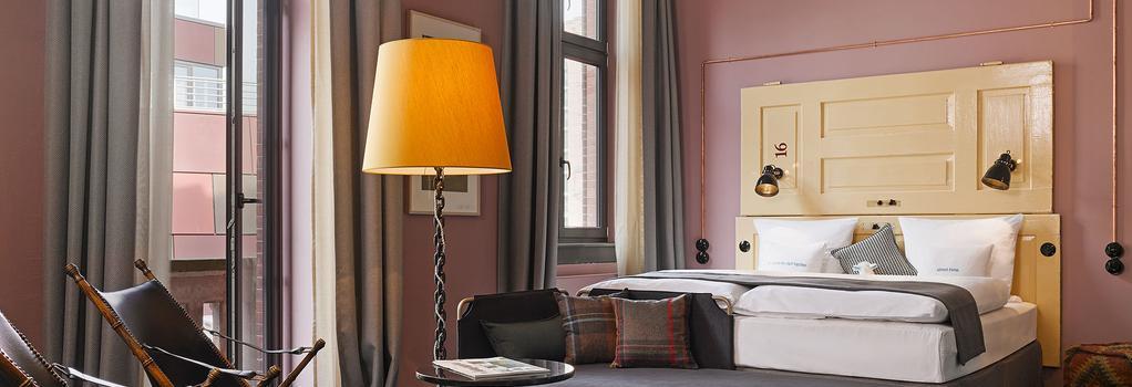 25 アワーズ ホテル アルテス ハーフンアムト - ハンブルク - 寝室