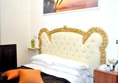 ホテル デ ザルティスト - ナポリ - 寝室