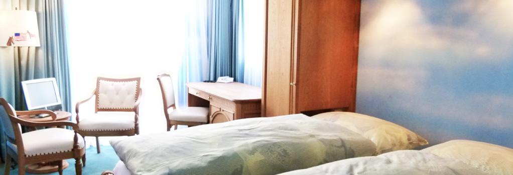 ホテル アルテ - サンモリッツ - 寝室