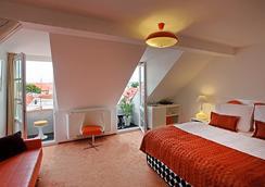 ヴィンテージ デザイン ホテル サックス - プラハ - 寝室