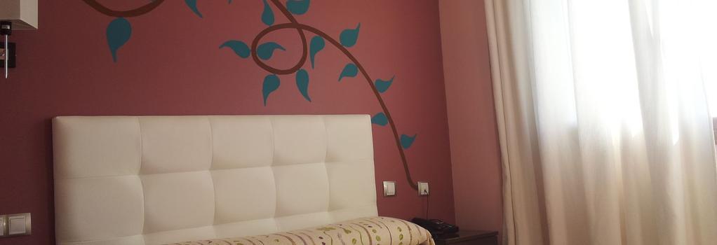 Hotel Artxanda - ビルバオ - 寝室
