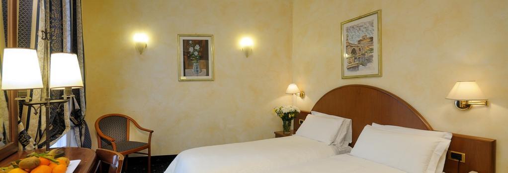 Hotel Quattro Fontane - ローマ - 寝室