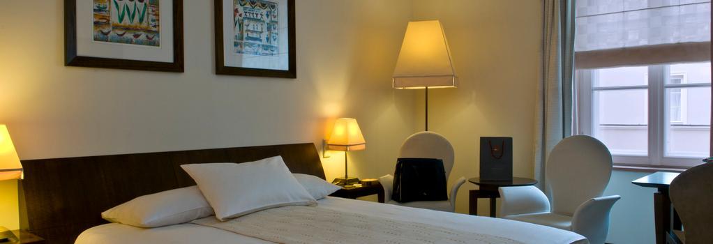 マメゾン レ レジーナ ホテル - ワルシャワ - 寝室