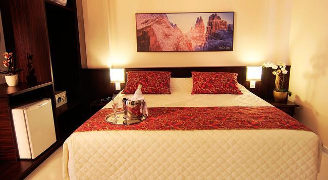 ボガリ ホテル - フォス・ド・イグアス - 寝室