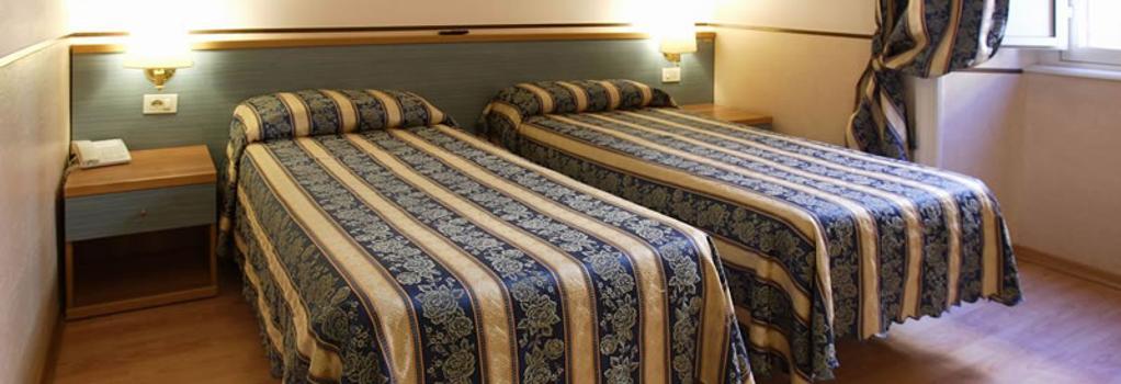 ホテル ラッツァーリ - ローマ - 寝室