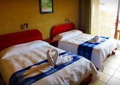 Hotel Arenal Bromelias - フォルトゥナ - 寝室