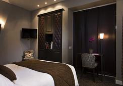 ホテル デュ プランス ウジェーヌ - パリ - 寝室