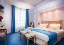 ホテル リヨン バスティーユ - パリ - 寝室