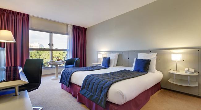 ガーデン ビーチ ホテル - Juan-les-Pins - 寝室