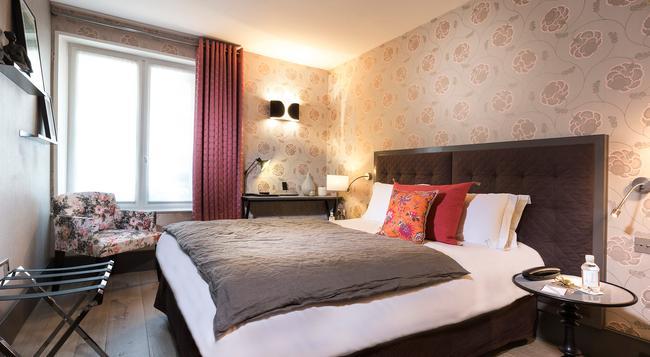 ホテル ラ ヴィラ サン ジェルマン デ プレ - パリ - 寝室