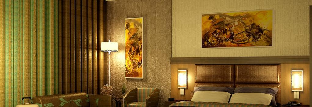 Danat Capital Hotel - アブダビ - 寝室